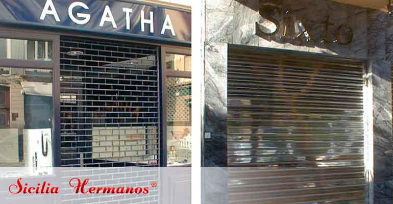 Puertas automáticas enrollables