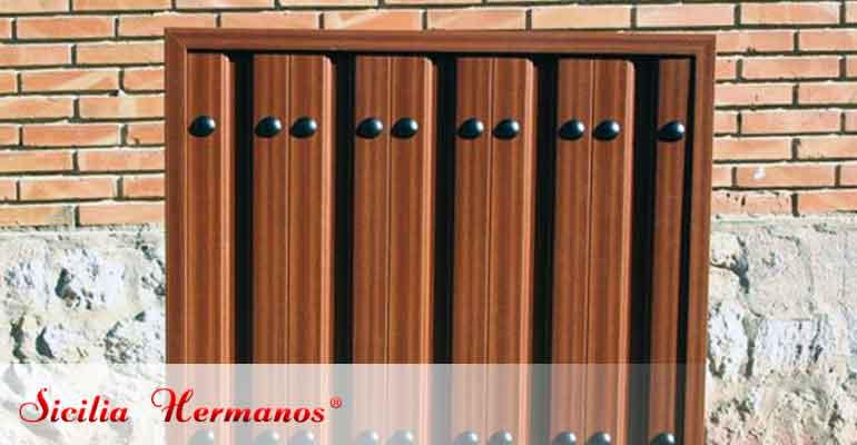 Panel para puerta automática